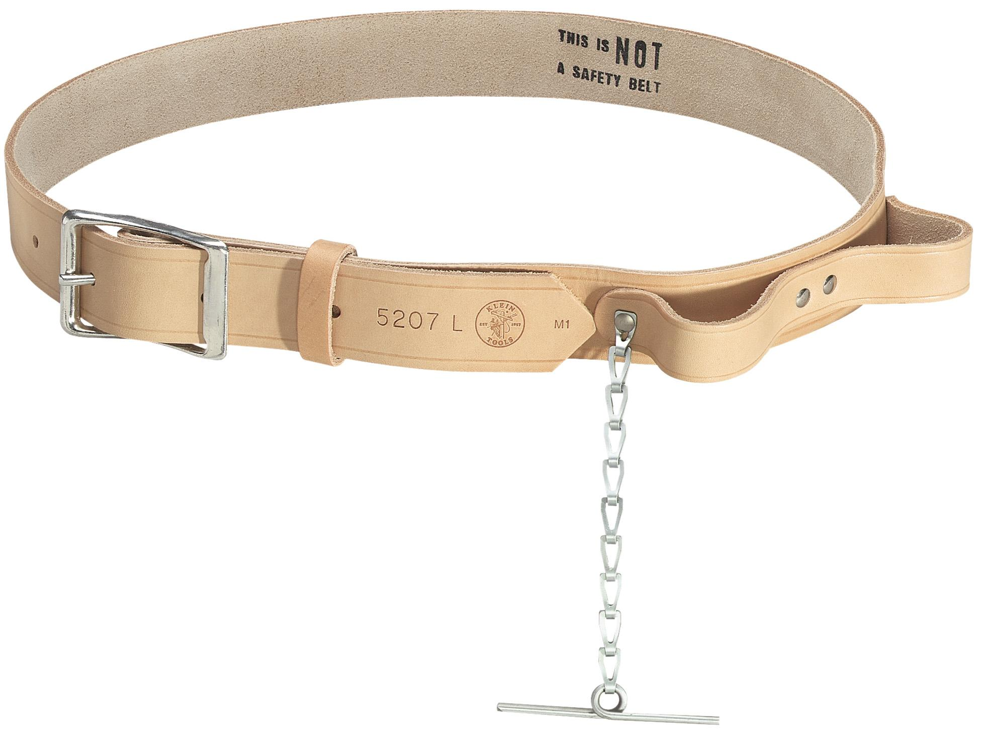 klein tools 5207xl electricians leather tool belt
